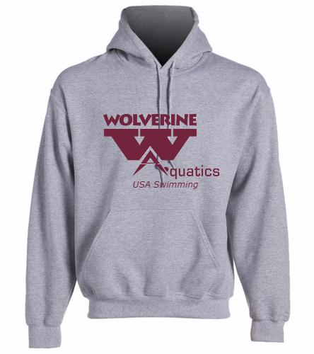 WAC Adult Sweatshirt - SwimOutlet Heavy Blend Unisex Adult Hooded Sweatshirt