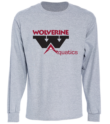 WAC 2-color gray long sleeve tshirt - SwimOutlet Cotton Unisex Long Sleeve T-Shirt