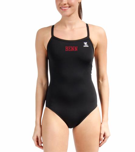 BENN - TYR Durafast Solid Diamondfit One Piece Swimsuit