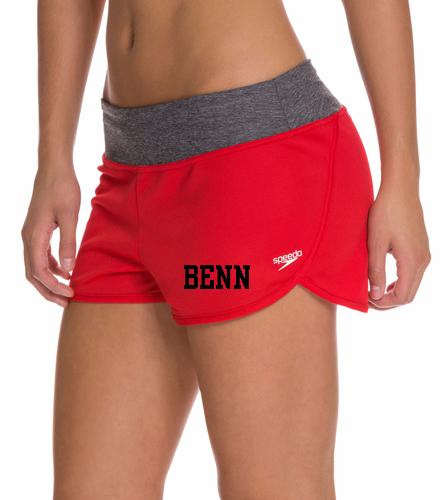 BENN - Speedo Women's Solid Team Short