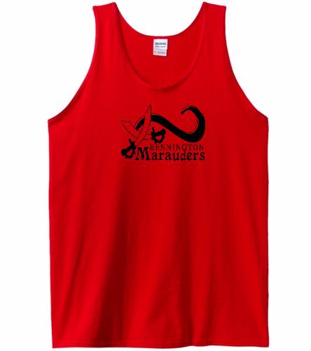 BENN Red - SwimOutlet Men's Cotton Tank Top