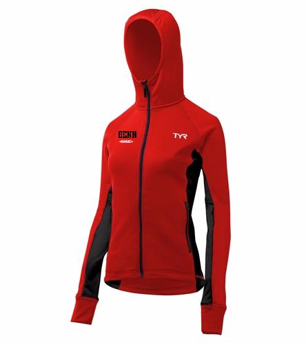 BENN  - TYR Alliance Victory Women's Warm Up Jacket