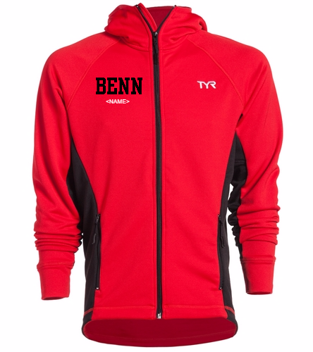 BENN - TYR Alliance Victory Male Warm Up Jacket