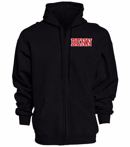 BENN - SwimOutlet Unisex Adult Full Zip Hoodie