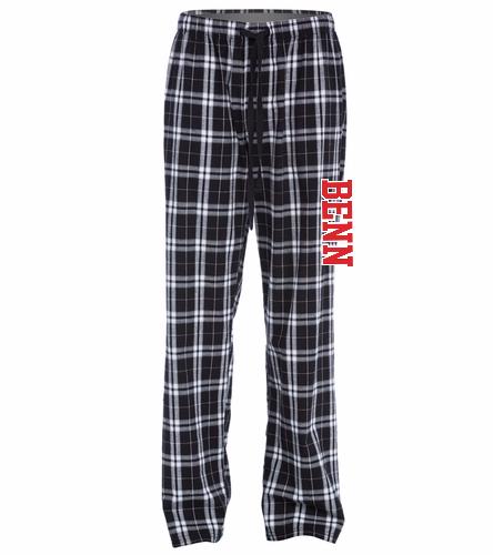 BENN - SwimOutlet Unisex Flannel Plaid Pant
