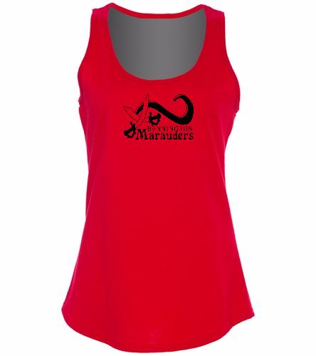 BENN Red - SwimOutlet Women's Cotton Racerback Tank Top