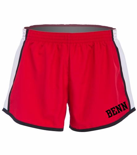 BENN Red - SwimOutlet Custom Unisex Team Pulse Short