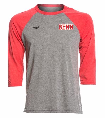 BENN - Speedo Unisex Baseball Tee Shirt