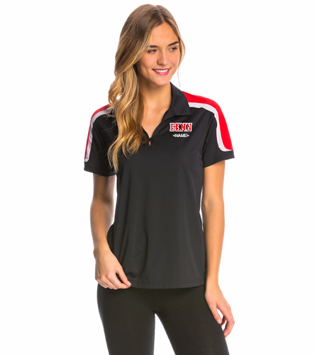 BENN - SwimOutlet Women's Tech Polo