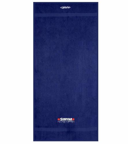 SAA - Royal Comfort Terry Cotton Beach Towel 32 x 64