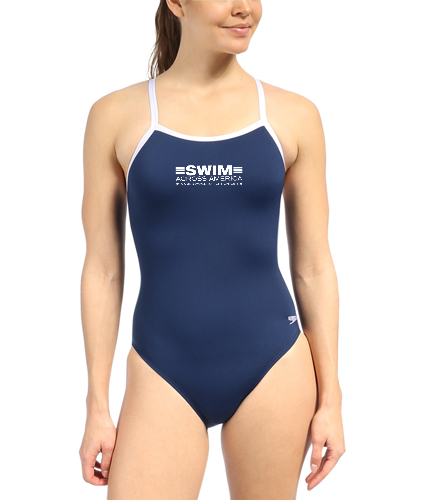 SAA Women's Flyback - Speedo Solid Endurance + Flyback Training One Piece Swimsuit