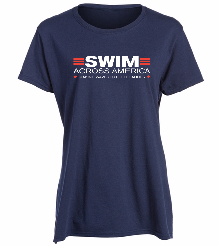 SAA - SwimOutlet Women's Cotton Missy Fit T-Shirt