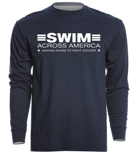 SAA Long Sleeve Crew Shirt - SwimOutlet Unisex Long Sleeve Crew/Cuff