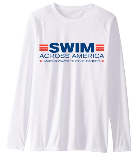SAA  - Sporti Men's Solid L/S UPF 50+ Sun Shirt