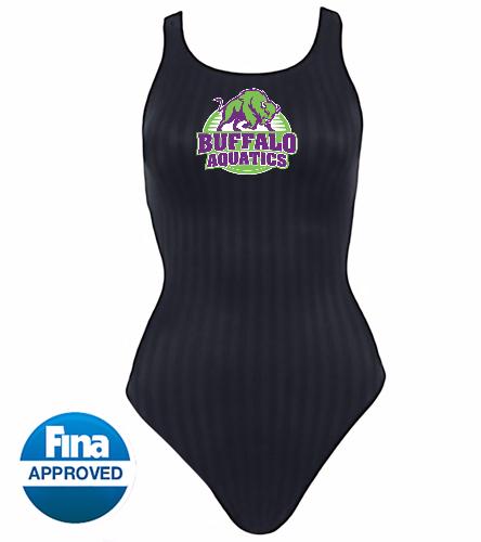 front back logo - Speedo Women's Aquablade Recordbreaker Tech Suit Swimsuit