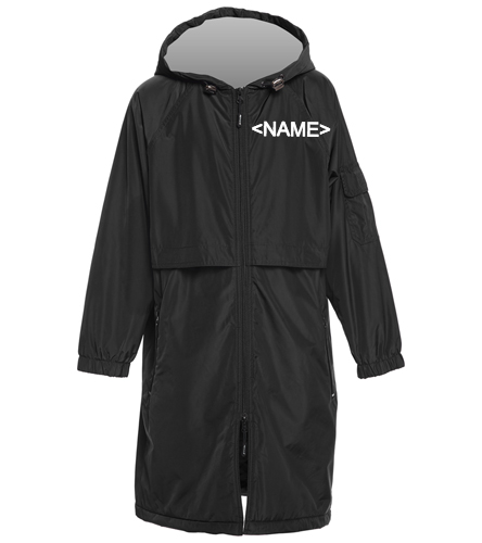 youth parka back only - Sporti Comfort Fleece-Lined Swim Parka Youth