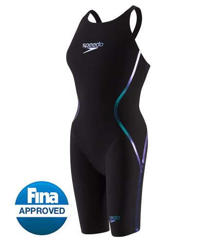 racing 13 and up - Speedo Women's LZR Racer X Closed Back Kneeskin Tech Suit Swimsuit
