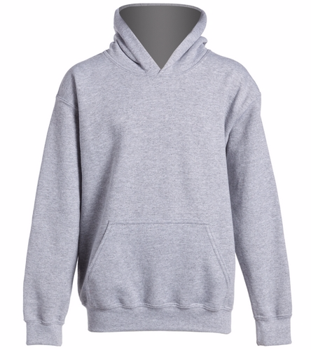 youth hoodie gray - SwimOutlet Youth Heavy Blend Hooded Sweatshirt