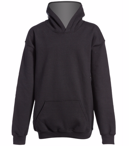 youth hoodie black - SwimOutlet Youth Heavy Blend Hooded Sweatshirt