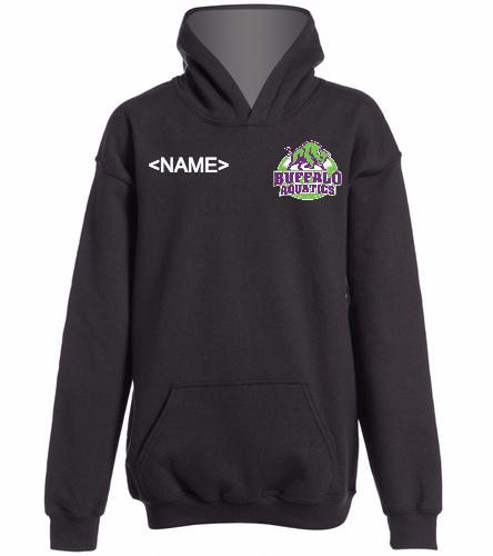 hoodie2black - SwimOutlet Youth Heavy Blend Hooded Sweatshirt