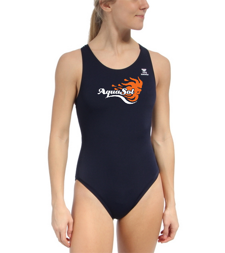 Team suit - TYR Durafast Solid Maxfit One Piece Swimsuit