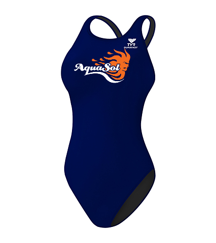 Team Suit - TYR Durafast Elite Solid Maxfit One Piece Swimsuit