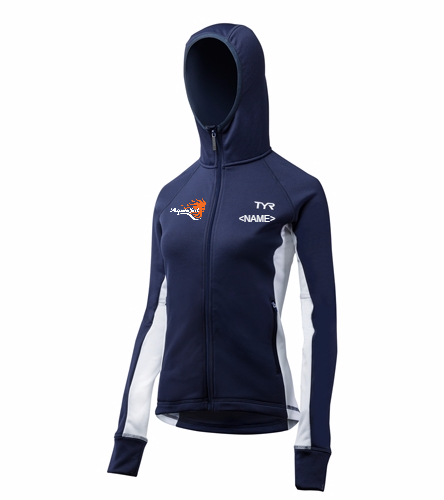 AquaSol Female Jacket - TYR Alliance Victory Women's Warm Up Jacket
