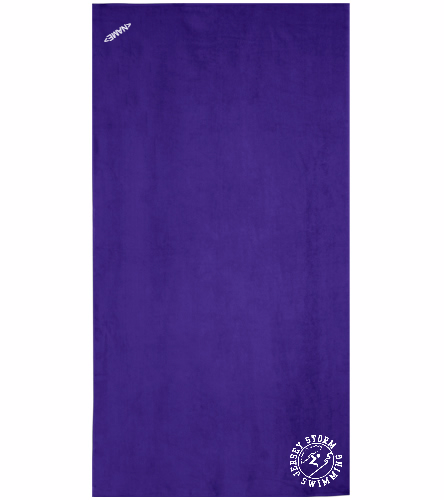Storm - Royal Comfort Terry Velour Beach Towel 32 X 64