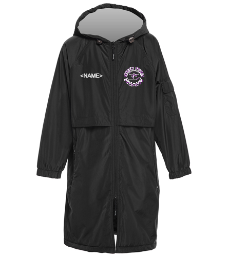 Storm - Tackle Twill on Back - Sporti Comfort Fleece-Lined Swim Parka Youth