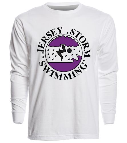 Jersey Storm - SwimOutlet Unisex Long Sleeve Crew/Cuff