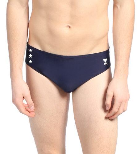 DCAC TYR Solid Racer  - TYR Men's TYReco Solid Racer Brief Swimsuit