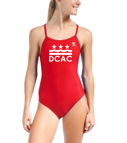 DCAC TYR Solid Diamondfit Swimsuit  - TYR Women's TYReco Solid Diamondfit One Piece Swimsuit