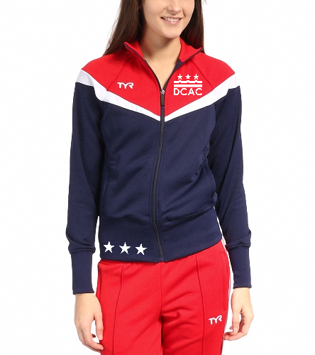 DCAC TYR Freestyle Female Warm Up Jacket - TYR Freestyle Female Warm Up Jacket