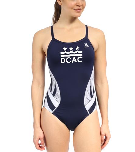 DCAC Team Splice Diamondfit - TYR Women's Phoenix Splice Diamondfit One Piece Swimsuit