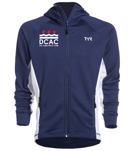 DCAC TYR Alliance Victory Male Warm Up Jacket  - TYR Alliance Victory Male Warm Up Jacket