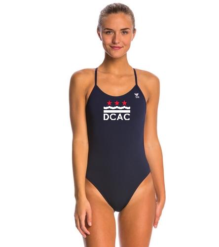 DCAC Team Cutout - TYR Solid Cutoutfit One Piece Swimsuit