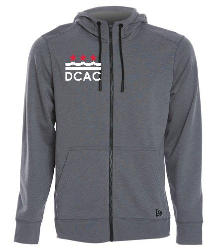 DCAC Men's Fleece Zip Hoodie - SwimOutlet New Era® Tri-Blend Fleece Full-Zip Hoodie