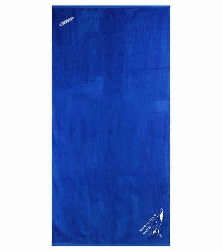 Rays Royal Option 1 - Royal Comfort Terry Velour Beach Towel 32 X 64