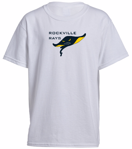 Youth Rays White - Heavy Cotton Youth T-Shirt