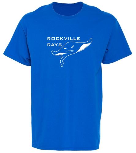 Royal tshirt R logo  - Heavy Cotton Youth T-Shirt