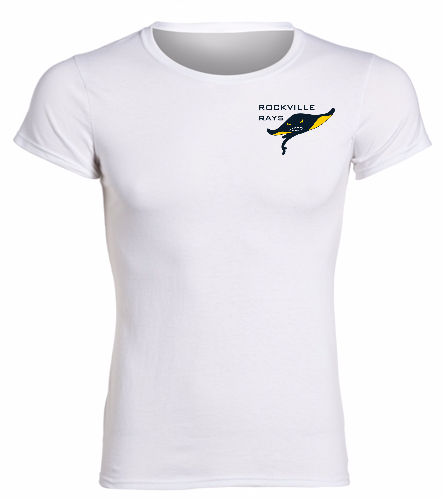 Rays White  -  Heavy Cotton Missy Fit T-Shirt