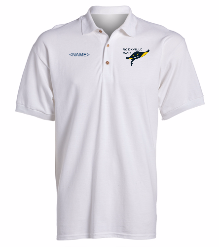 Rays White -  Ultra Cotton Adult Pique Sport Shirt