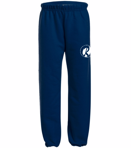 Youth Rays Navy - Heavy Blend Youth Sweatpant