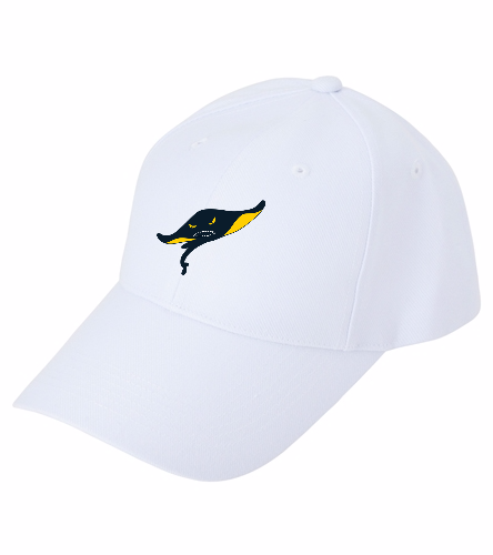 Rays White - SwimOutlet Custom Cotton Twill Cap