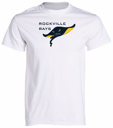 Rays White -  Unisex 100% Cotton 30's RS S/S