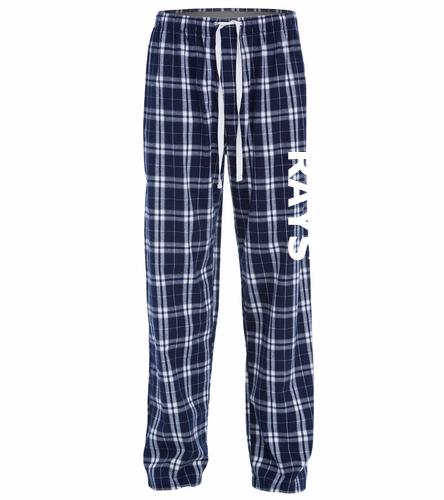 Rays w/ White Logo - District Flannel Plaid Pant