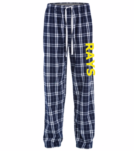 Rays w/ Yellow Logo - District Flannel Plaid Pant