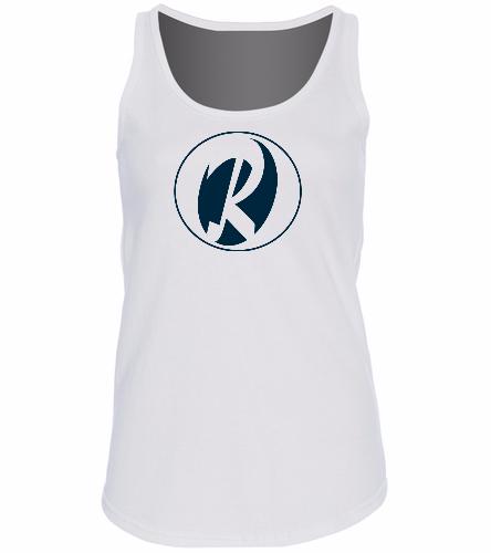 Rays White -  Ladies 5.4-oz 100% Cotton Tank Top