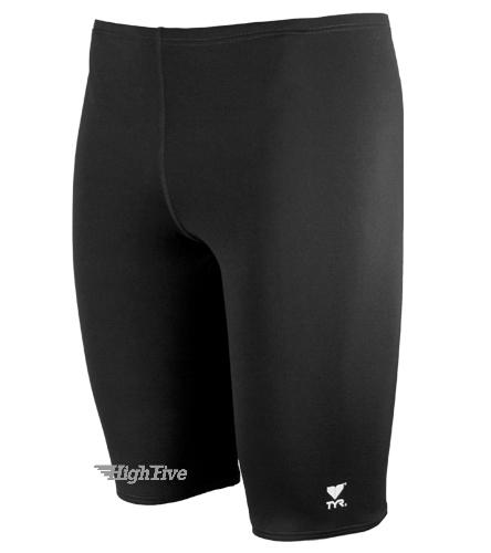 HighFive Grey TYR Durafast Solid Jammer Swimsuit - TYR Durafast Solid Jammer Swimsuit