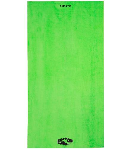 Silver Peak Towel  - Royal Comfort Terry Velour Beach Towel 32 X 64